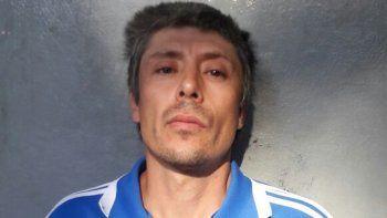 Pablo Díaz, tras ser detenido en la localidad de Las Heras en Mendoza.