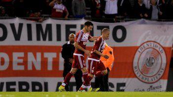 River le ganó 1 a 0 a Atlético Rafaela, en el estadio Monumental,