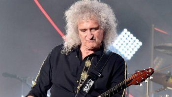 preocupa la salud de brian may, guitarrista de queen