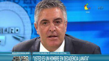 El letrado declaró que no le tiene miedo al periodista, ni a Magnetto, ni al Grupo Clarín, por lo que irá hasta las últimas consecuencias.
