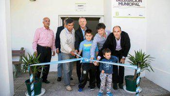 El viernes el intendente Cimolai inauguró la delegación municipal.