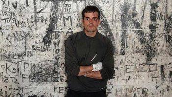 Daniel Zalazar en una celda de Godoy Cruz.