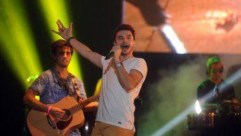 La banda uruguaya fue una de las más convocantes en la última edición de la Fiesta de la Confluencia.