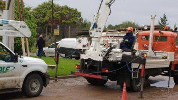 tras el arreglo del cable, los dos barrios recuperaron la luz