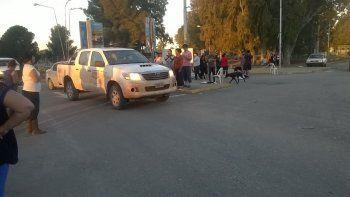 levantaron el bloqueo al acceso al aeropuerto tras llegar a un acuerdo