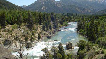 El río Caleufú fue escenario fatal para un trabajador rural.
