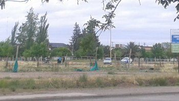La pelea se dio en la plaza y el crimen, a pocos metros del patinódromo.