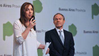 Vidal anunció la intervención del SPB por los próximos 90 días.