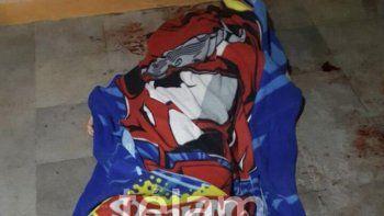 un chico de 13 anos mato a un ladron que entro a robar