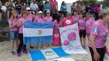 las mujeres recuperadas de cancer de mamas se destacaron en brasil