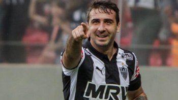 Pratto, en la última del partido, le dio la ventaja al Atlético Mineiro.
