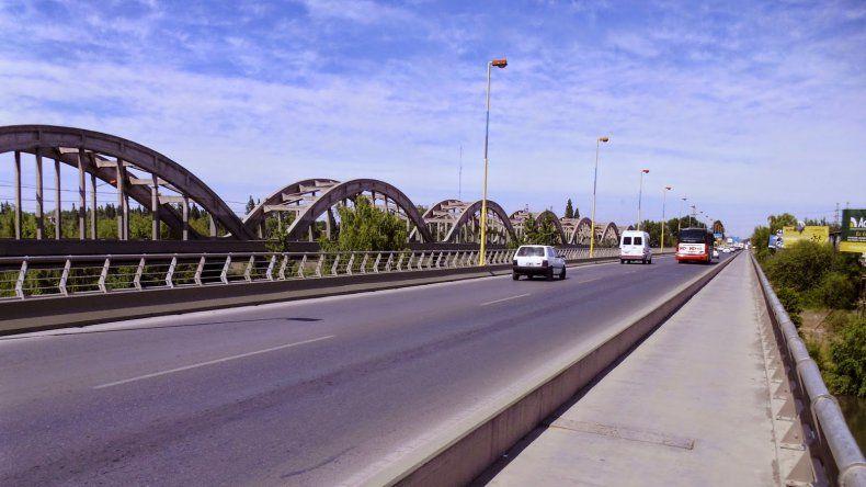 EL intento de robo se registró en el puente nuevo en la madrugada de hoy.