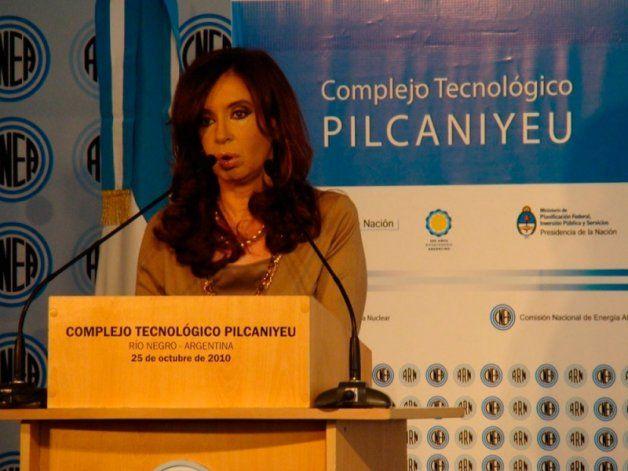 El lunes Cristina Fernández visitará el Complejo Tecnológico de Pilcaniyeu