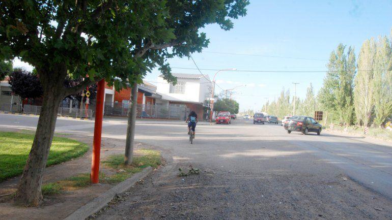 Los ladrones habían ingresado a una casa situada sobre Circunvalación al 1000 y un vecino alertó a la Policía.