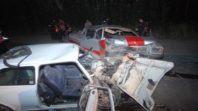 Cipolletti: dos personas se encuentran graves tras chocar en Circunvalación