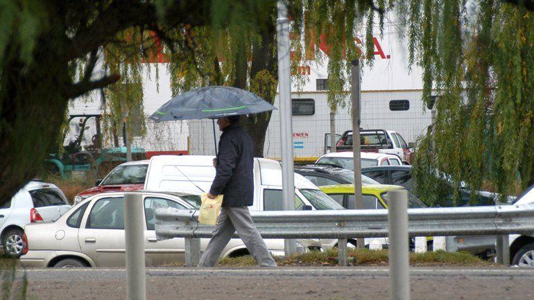 Se vienen las lluvias para esta noche en el Alto Valle