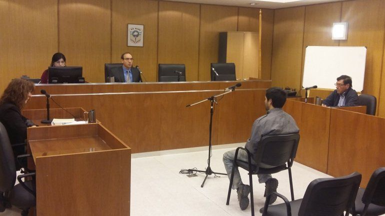 Ayer se tomó declaración indagatoria al acusado.
