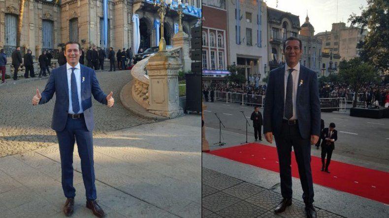 Gutiérrez viajó a Tucumán para participar de los festejos por el Bicentenario