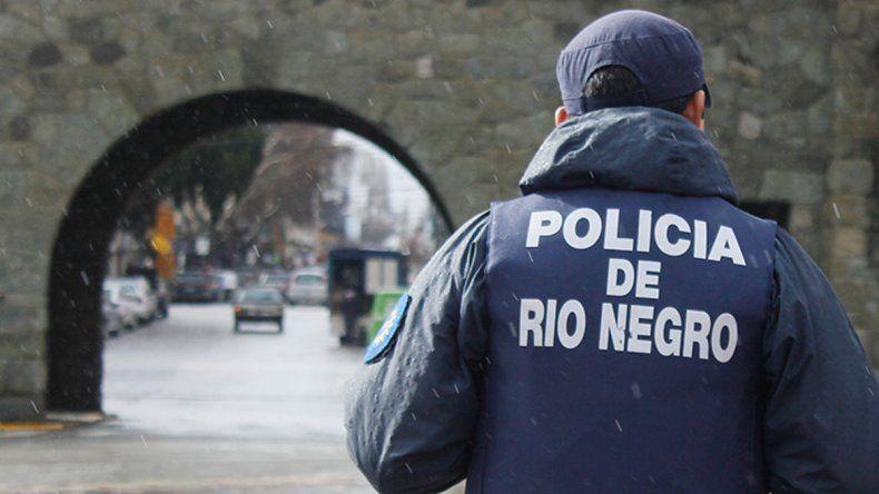 La Policía de Bariloche