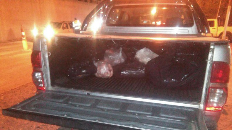 Decomisaron más de 500 kilos de carne y chacinados