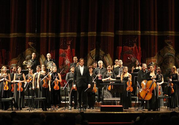 La Orquesta Sinfónica de Neuquén se lució en el Colón