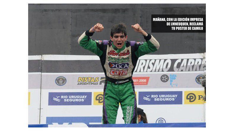 Camilo Echevarría es el nuevo campeón del TC Pista