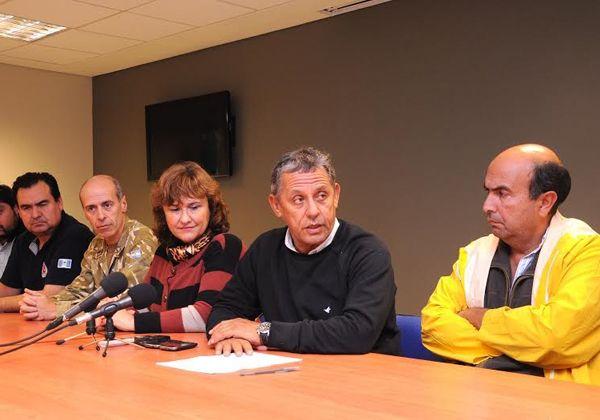 Pechi Quiroga: El temporal destrozó toda la ciudad