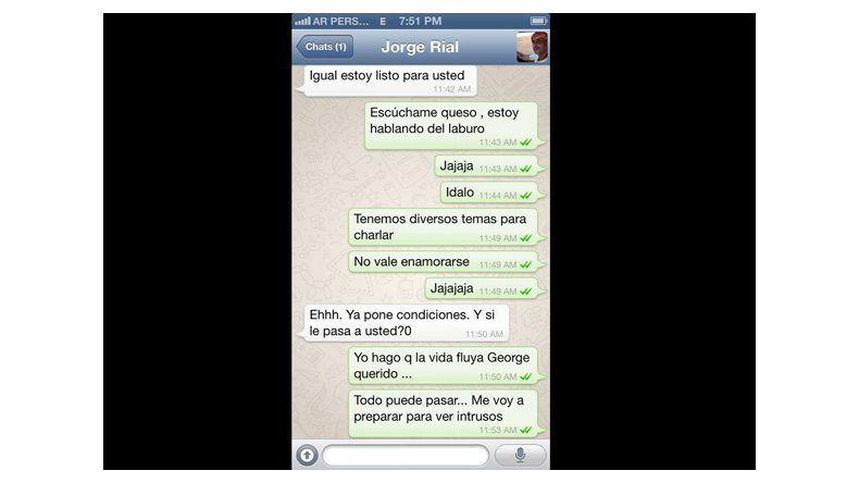 Escándalo por mensajes íntimos entre Jorge Rial y Marianela Mirra