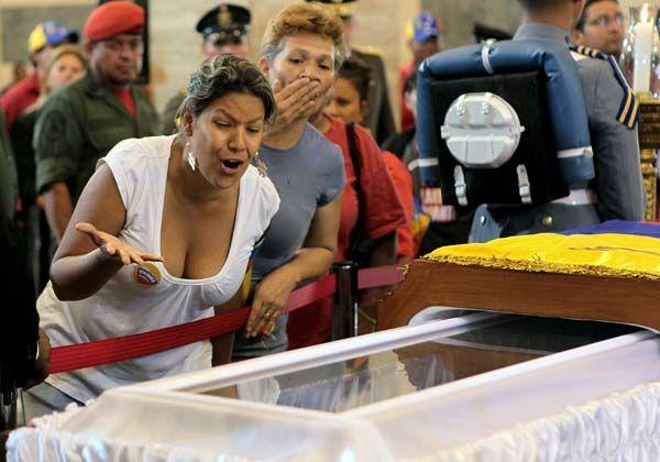El Adios del pueblo venezolano