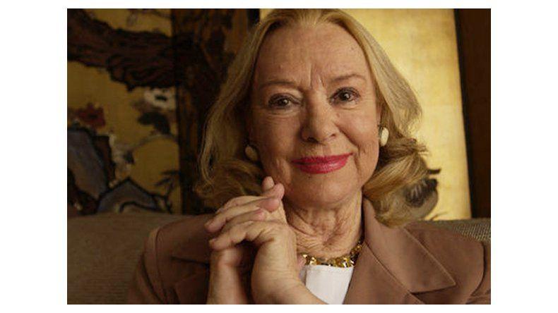 Adiós a Olga Zubarry