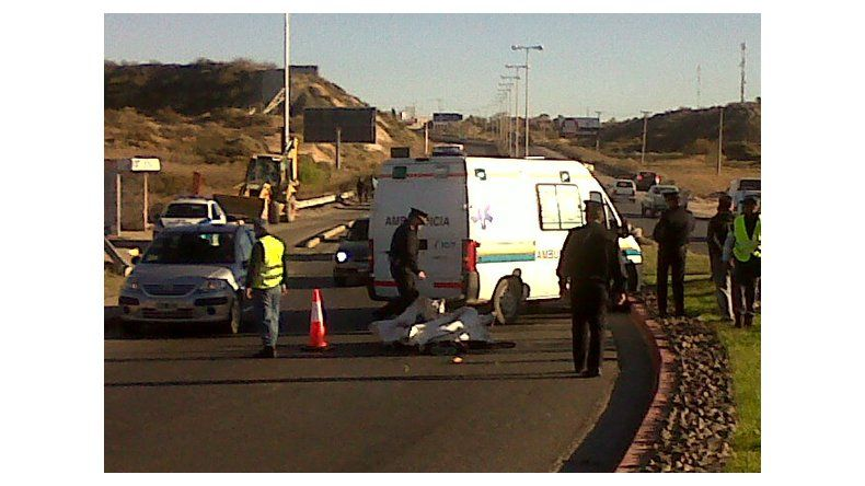 Accidente fatal en Ruta 7