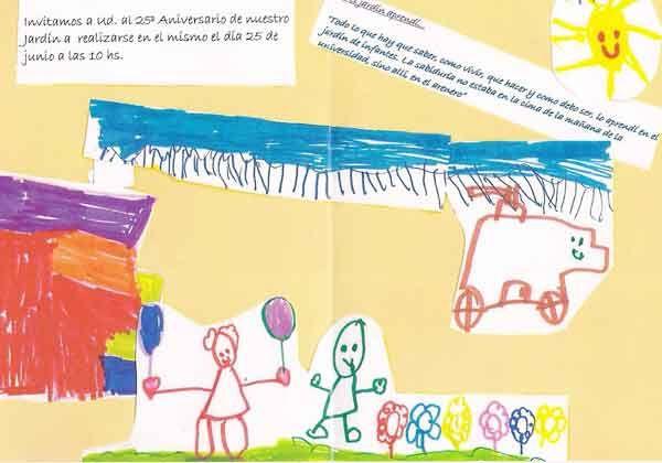 Un jard n de infantes en el barrio gregorio lvarez for Azul naranja jardin de infantes