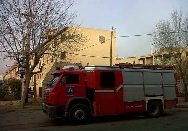 Se incendió un departamento en el Barrio Gregorio Álvarez