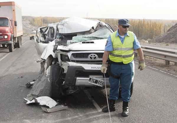 Otro accidente en la peligrosa Ruta 7