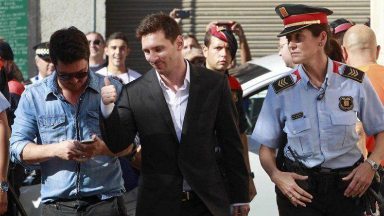 Lionel Messi y su padre irán a juicio por evasión fiscal