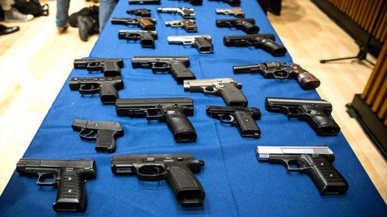 Arrancó el plan de desarme voluntario de armas