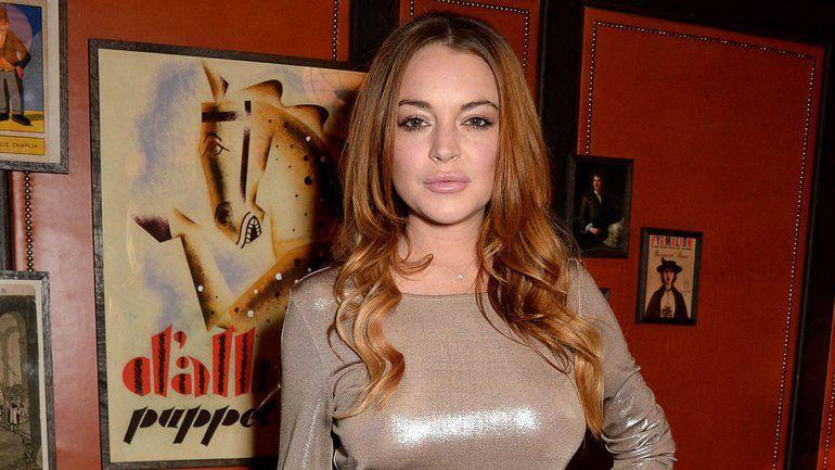 Lindsay Lohan intenta llevarse a dos niños y fue golpeada por la madre