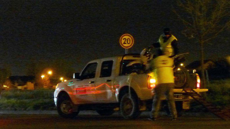Más de 40 vehículos en falta: dos conductores borrachos