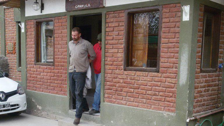 El Flaco Magallanes Holt en el Departamento Delitos