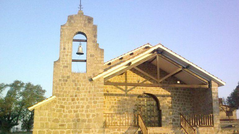 Así lucía la campana en el histórico templo de Cabalango