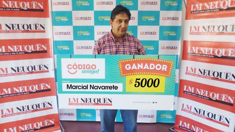 Marcial Navarrete.
