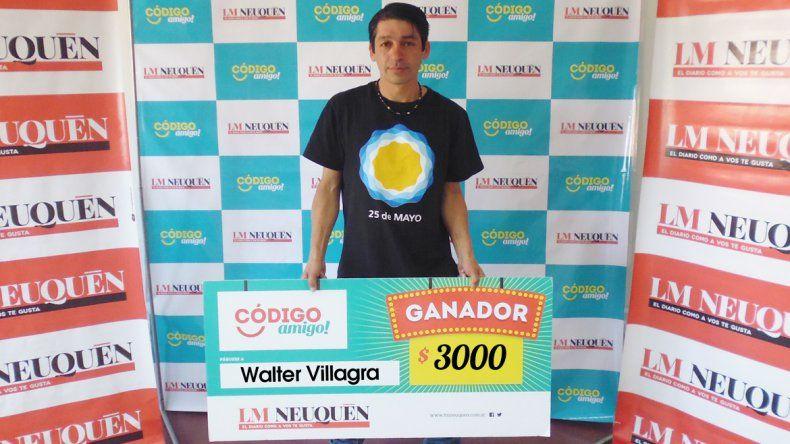 Walter Villagra.