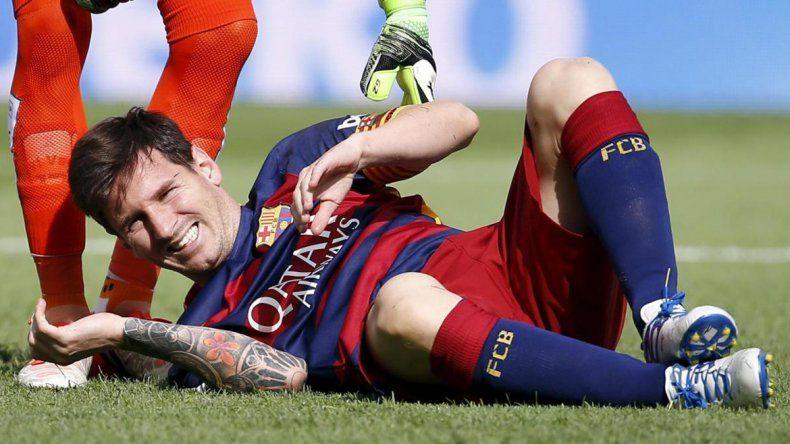 Messi no quiere forzar su recuperación