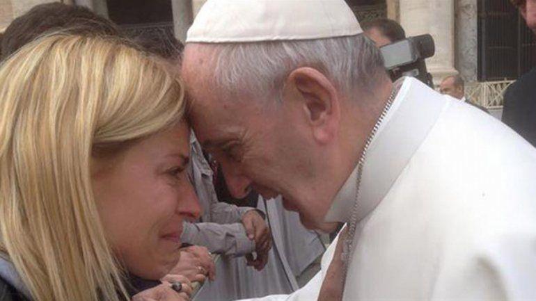 El emotivo encuentro entre Tobal y el Papa