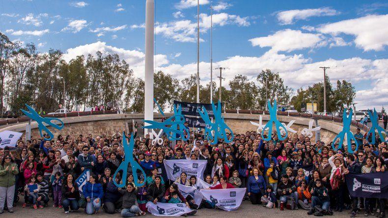 Rody Kaiser en su cierre de campaña en Plaza de Las Banderas.