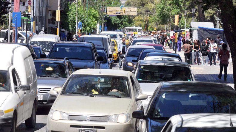 Las infracciones están a la orden del día en las calles de la ciudad.