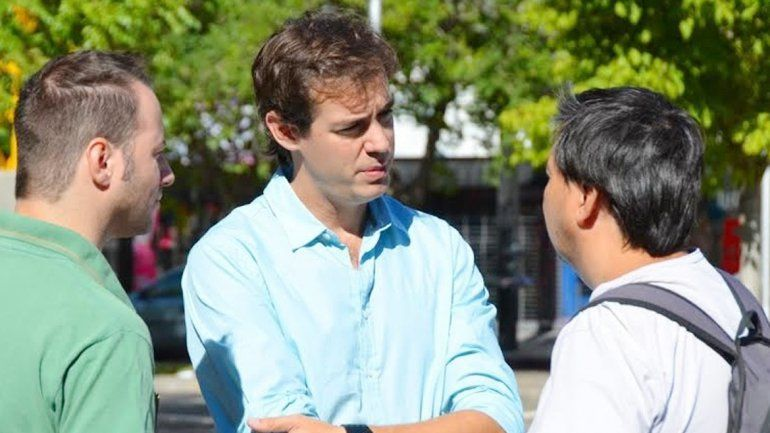 El candidato a diputado nacional se focalizó en el MPN sobre el final.