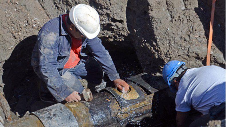 No hubo agua en Valentina Sur por la rotura de un caño