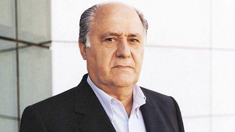 El magnate gallego Amancio Ortega