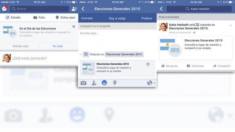 Facebook tendrá un botón para notificar el voto